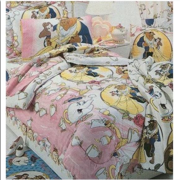 Disney Bedding 9s Beauty And The Beast Comforter Set Poshmark